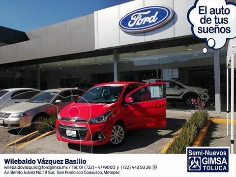 Chevrolet Spark LTZ usado (2016) color Rojo precio $125,000