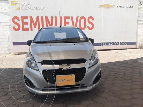 Chevrolet Spark LT usado (2015) color Plata Dorado precio $130,000
