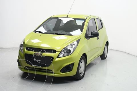 Chevrolet Spark LT usado (2017) color Verde Lima precio $140,800