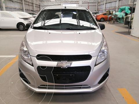 Chevrolet Spark LT usado (2017) color Plata Metalico financiado en mensualidades(enganche $26,112 mensualidades desde $4,678)