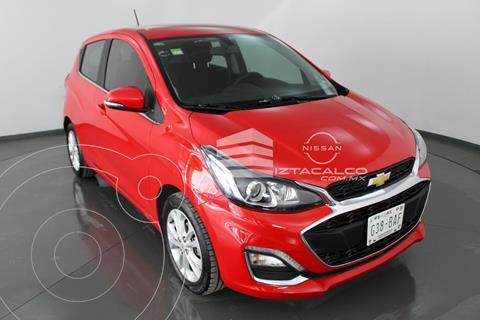 Chevrolet Spark LTZ usado (2019) color Rojo precio $185,000