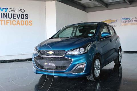 Chevrolet Spark Premier usado (2020) color Turquesa precio $232,000
