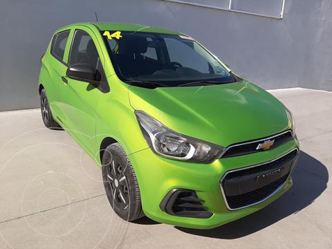 Chevrolet Spark LT usado (2016) color Verde precio $140,265