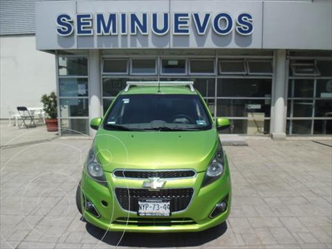 Chevrolet Spark LTZ, MANUAL A/A usado (2014) color Verde precio $93,000