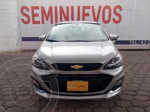 Chevrolet Spark Premier CVT usado (2019) color Plata Dorado precio $210,000