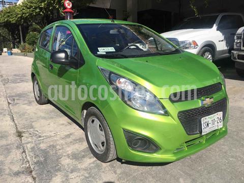 Chevrolet Spark LT usado (2015) color Verde precio $115,000