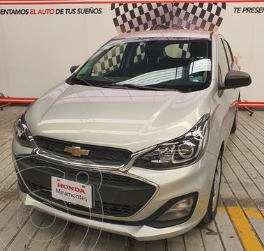 Chevrolet Spark LT usado (2019) color Plata financiado en mensualidades(enganche $92,500 mensualidades desde $2,305)