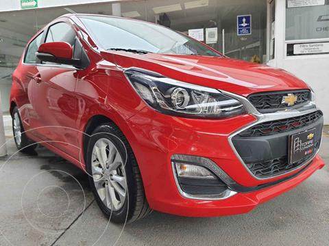 Chevrolet Spark Premier CVT  usado (2020) color Rojo precio $249,000