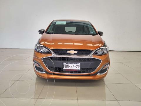 Chevrolet Spark LTZ usado (2019) color Ocre precio $210,000