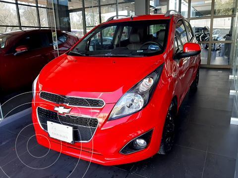 Chevrolet Spark LTZ usado (2017) color Rojo Flama precio $134,000