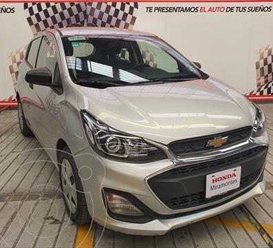 Chevrolet Spark LT usado (2019) color Plata Metalico financiado en mensualidades(enganche $92,500 mensualidades desde $2,305)