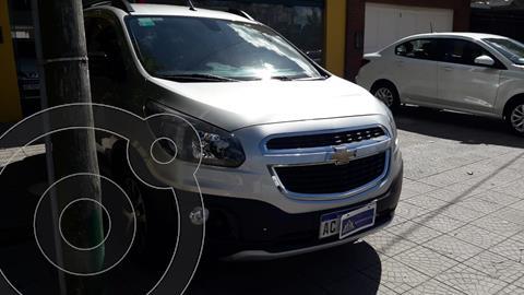 Chevrolet Spin Activ LTZ 1.8L 5 Asientos usado (2017) color Gris Azteca financiado en cuotas(anticipo $950.000)
