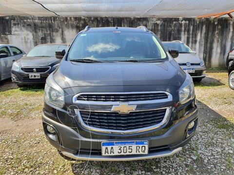 Chevrolet Spin Activ LTZ 1.8 5 Pas Aut usado (2016) color Negro precio $1.300.000