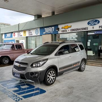 Chevrolet Spin Activ LTZ 1.8 5 Pas Aut usado (2018) color Gris Claro precio $1.540.000