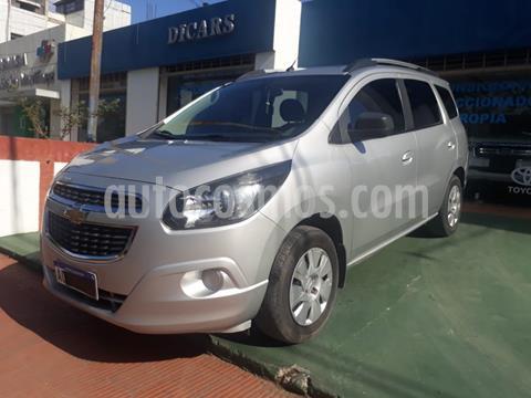 Chevrolet Spin Activ LTZ 1.8L 5 Pas Aut usado (2018) color Gris Claro precio $1.280.000
