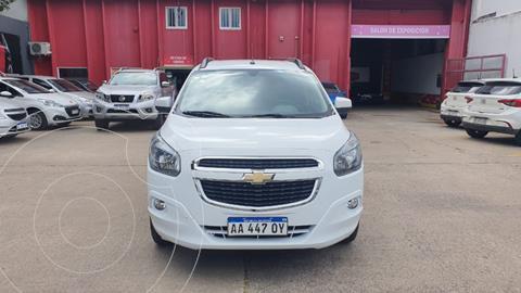Chevrolet Spin LTZ 1.8 7 Pas usado (2016) color Blanco precio $1.380.000