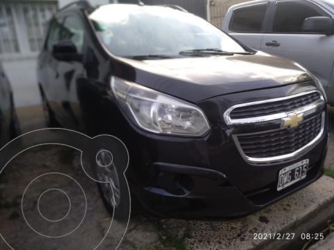 Chevrolet Spin LT 1.8 5 Pas usado (2015) color Negro Global precio $730.000