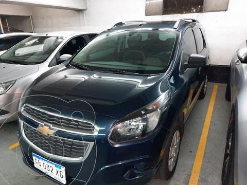 Chevrolet Spin LT 1.8 5 Pas usado (2017) color Azul precio $1.329.000