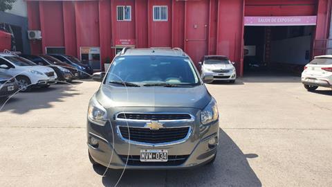 Chevrolet Spin LTZ 1.8 7 Pas  usado (2013) color Gris Oscuro precio $1.120.000