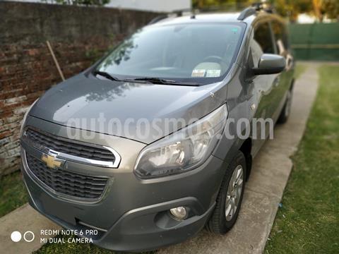 Chevrolet Spin LTZ 1.8 7 Pas  usado (2013) color Gris Mond precio $690.000