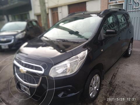 Chevrolet Spin LT 1.8 5 Pas usado (2014) color Negro precio $660.000