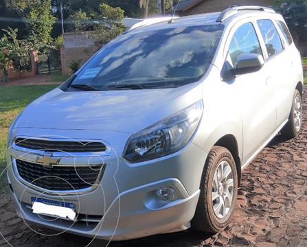 Chevrolet Spin LTZ 1.8 5 Pas usado (2017) color Plata precio $1.350.000