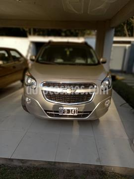 Chevrolet Spin LTZ 1.8 5 Pas usado (2014) color Beige Desert precio $720.000