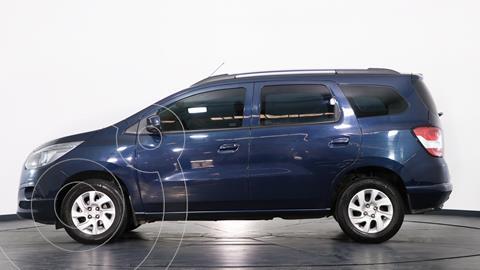 Chevrolet Spin LTZ 1.8 5 Pas usado (2017) color Azul Macaw precio $1.770.000