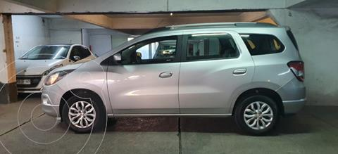 Chevrolet Spin 1.8L LTZ Aut usado (2018) color Plata precio $10.800.000
