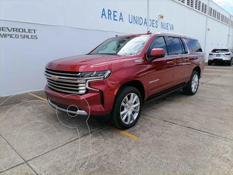 Chevrolet Suburban High Country nuevo color Rojo precio $1,728,100