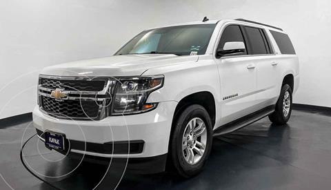 Chevrolet Suburban LT Tela usado (2014) color Blanco precio $439,999