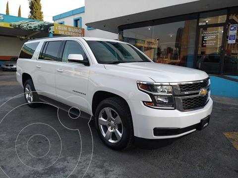 Chevrolet Suburban LT Piel usado (2016) color Blanco precio $589,000