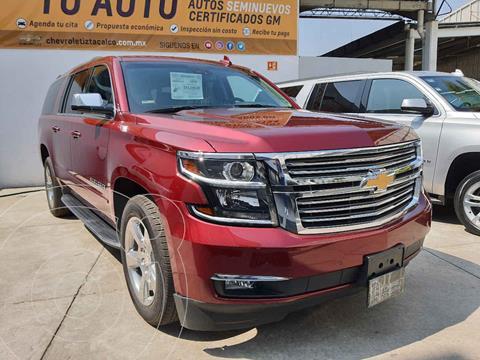 Chevrolet Suburban LT Piel Cubo usado (2019) color Rojo precio $879,000