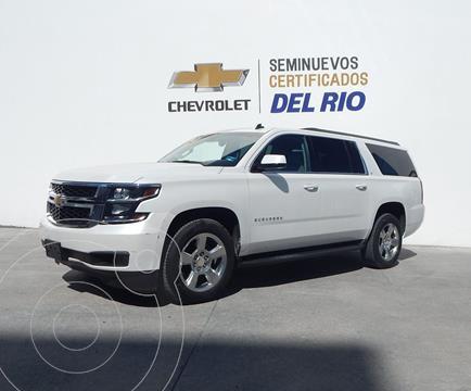 Chevrolet Suburban LT Piel Banca usado (2016) color Blanco precio $580,000