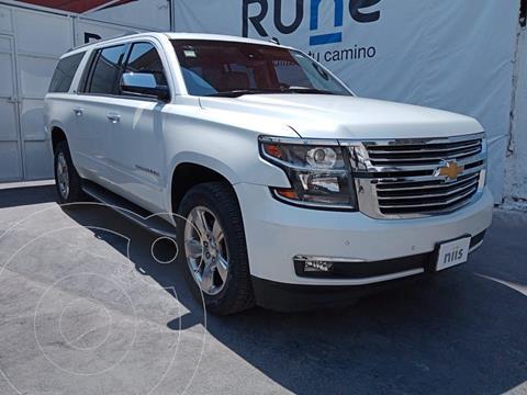 Chevrolet Suburban LT Piel Banca usado (2016) color Blanco precio $950,000