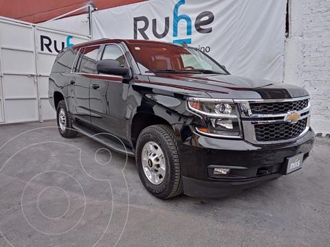Chevrolet Suburban LT Piel Plus usado (2016) color Negro precio $950,000