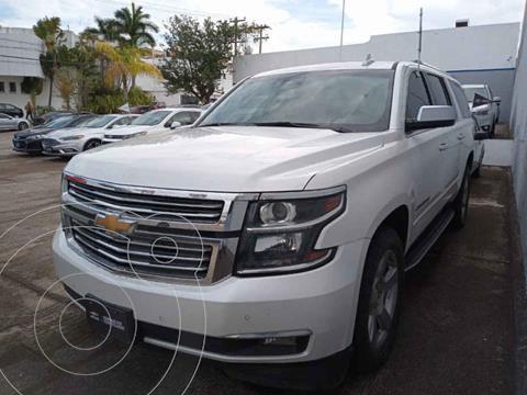 Chevrolet Suburban Premier Piel 4x4 usado (2018) color Blanco precio $680,000
