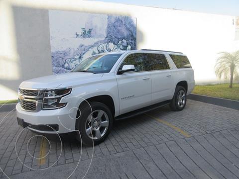 Chevrolet Suburban LT Piel usado (2019) color Blanco precio $849,000