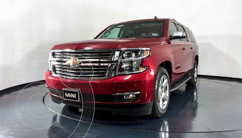 Chevrolet Suburban LT Tela usado (2014) color Rojo precio $537,999