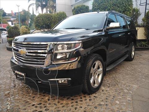 Chevrolet Suburban 5P LTZ V8 5.3 AUT 4WD 2DA CUBO usado (2015) color Negro precio $530,000