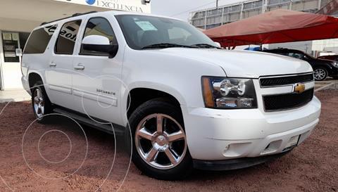 Chevrolet Suburban LT Piel usado (2013) color Blanco precio $310,000