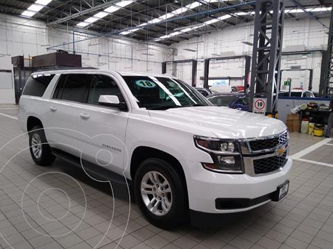 Chevrolet Suburban LS Tela usado (2018) color Blanco precio $575,000