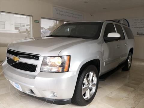 Chevrolet Suburban LT Piel usado (2013) color Plata precio $398,000