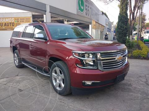Chevrolet Suburban Premier Piel 4x4 usado (2019) color Rojo precio $879,000