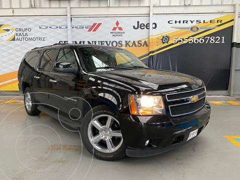 Chevrolet Suburban LT Piel 4x4 usado (2013) color Negro precio $349,000