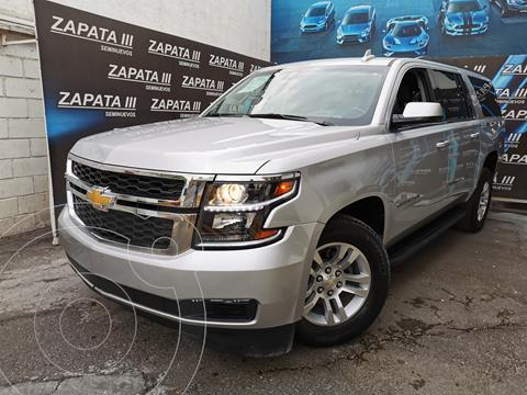 Chevrolet Suburban LT usado (2018) color Plata precio $640,000