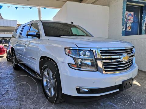 Chevrolet Suburban Premier Piel 4x4 usado (2018) color Blanco precio $849,000