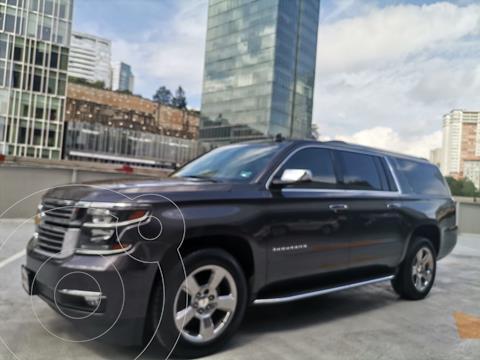 Chevrolet Suburban Premier Piel 4x4 usado (2018) color Gris Oscuro precio $815,000