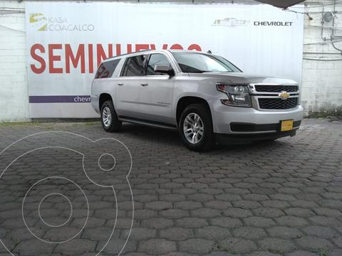 Chevrolet Suburban LT usado (2017) color Plata Dorado precio $660,000