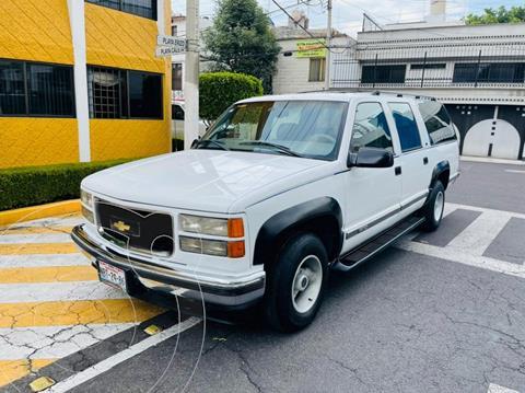Chevrolet Suburban LT Piel usado (1998) color Blanco precio $89,900
